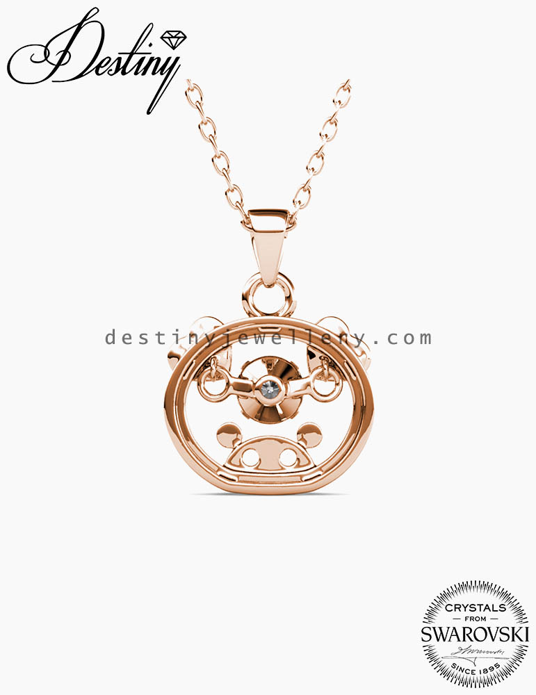 12 Dancing Zodiac Pendant (Pig)