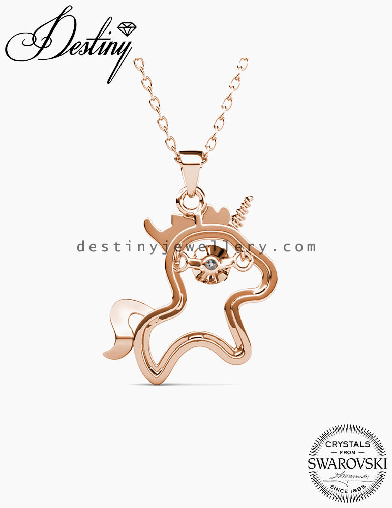 12 Dancing Zodiac Pendant (Horse)
