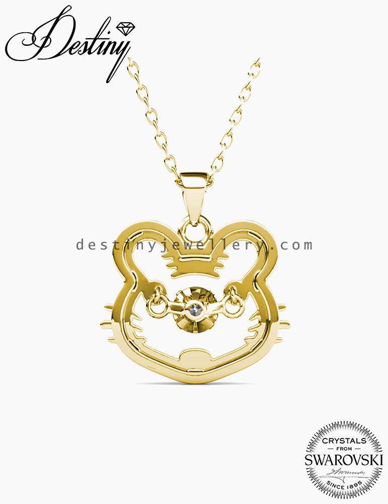 12 Dancing Zodiac Pendant (Tiger)