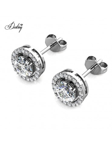 Moissanite Diamond Fantaisie Earrings