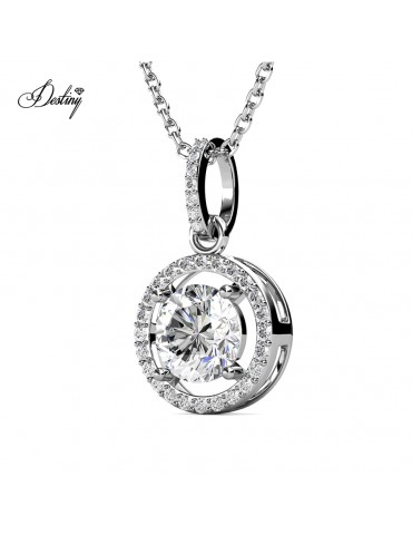 Moissanite Diamond Fantaisie Pendant
