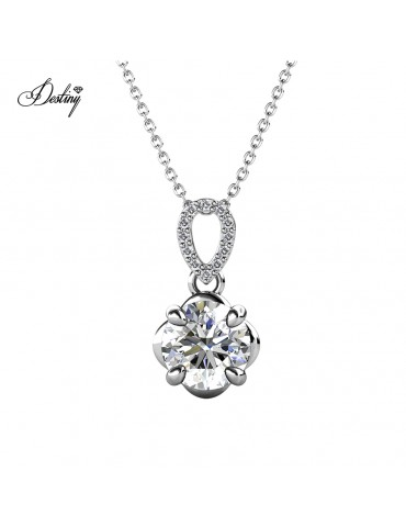 Moissanite Diamond La Rose Pendant