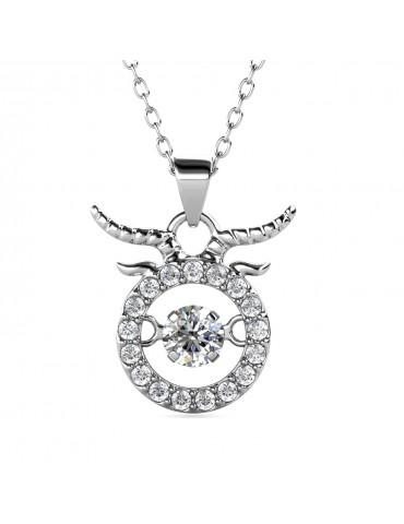 12 Dancing Horoscope Pendant (Taurus)