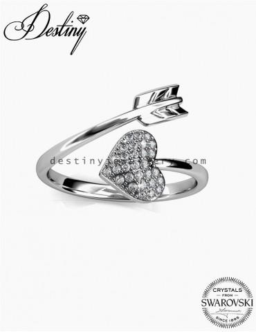 Arrow Of Heart Ring