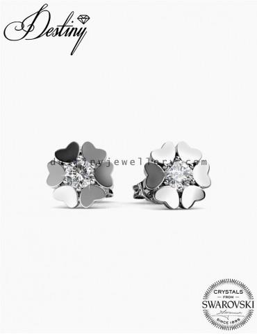 Heart Petal Earrings