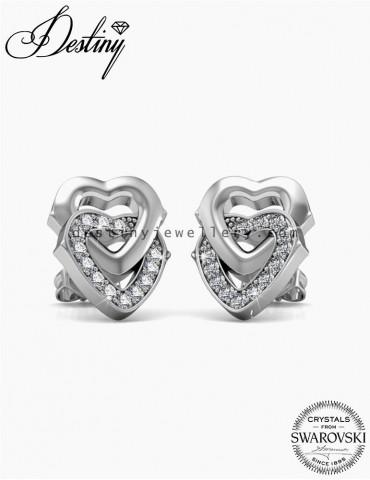 2 Hearts Earrings