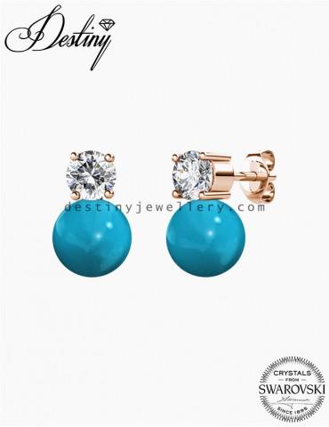 7 Days Droplet Pearl Earrings