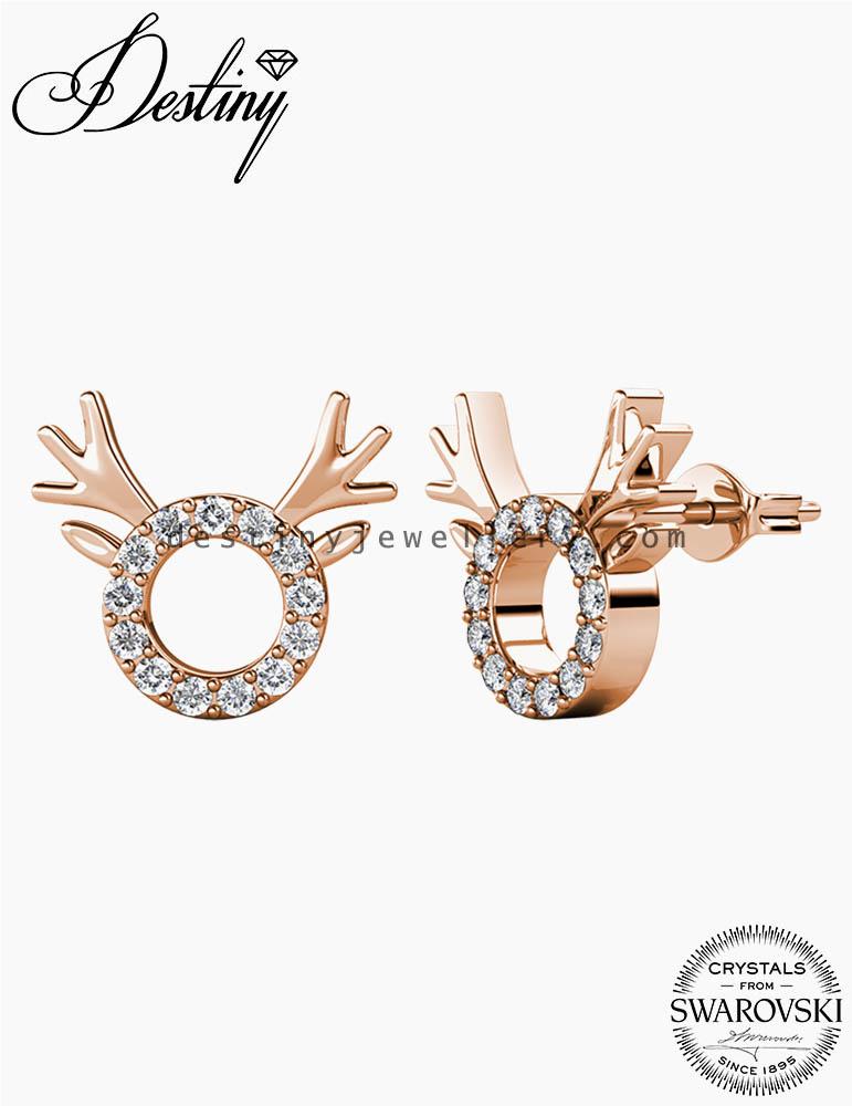 Rudolph Earrings Set