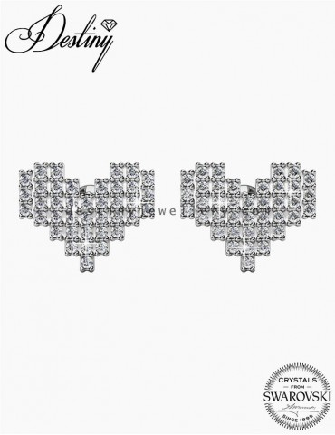 Pixel Love Earrings