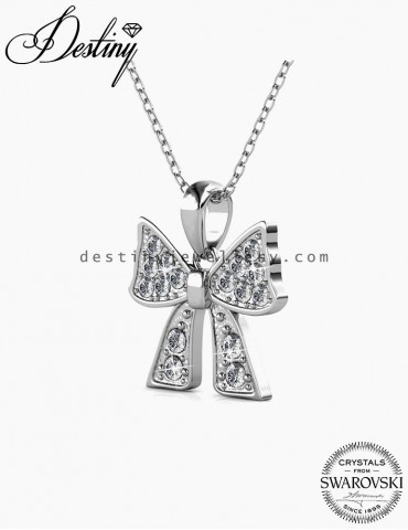 Ribbon Bow Pendant