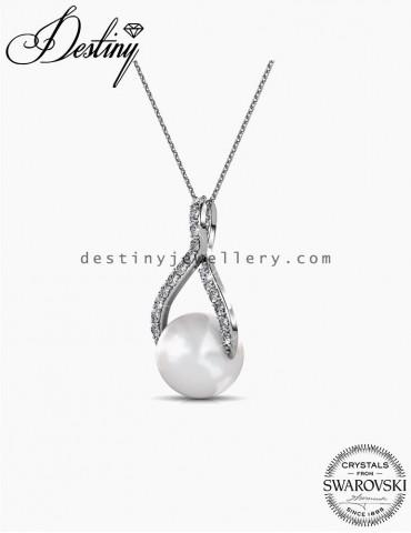Ribbon Pearl Pendant