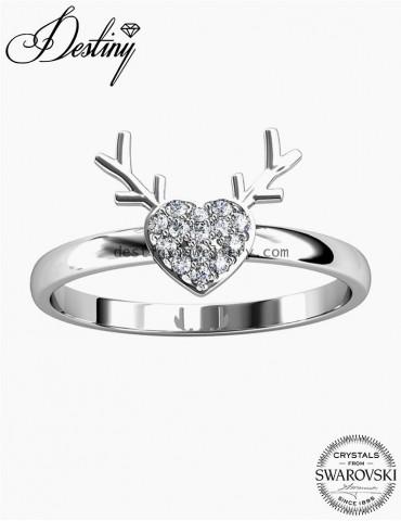 Deer Love Ring